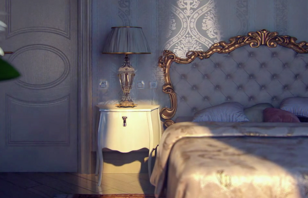 VIDEO: A doll's house bedroom